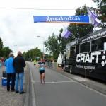 Martine Bruinsma (25.53, 1e vrouw)